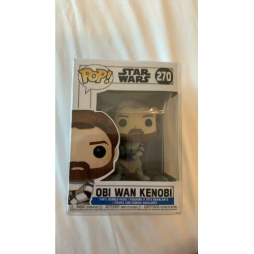 Funko Pop! Star Wars Obi Wan Kenobi #270 incl Soft Protector