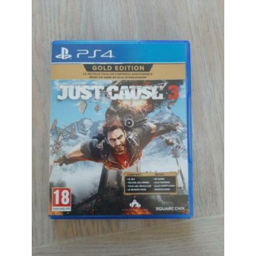 Just cause 3 gouden editon